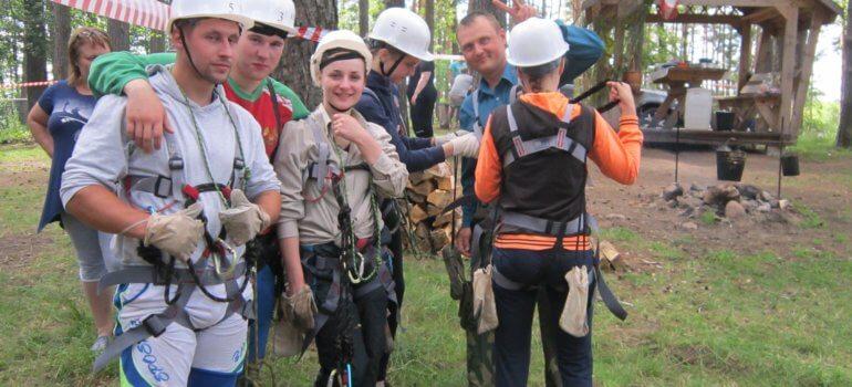 туристический слет работающей молодежи